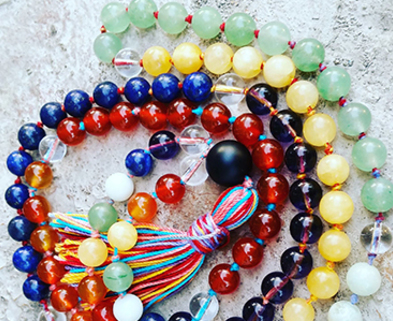 Medium mala necklace dabble denver jen