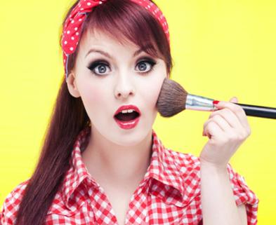 Vintage Pin Up Makeup Class