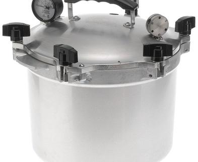 Medium pressure canner