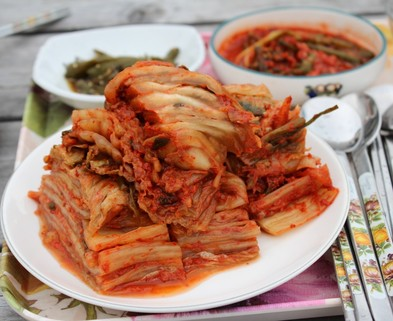 Medium countryside dining table kimchi food cooking republic of korea delicious food food photography dining 781578