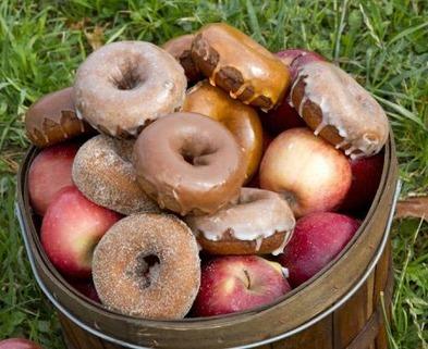 Medium apple donuts