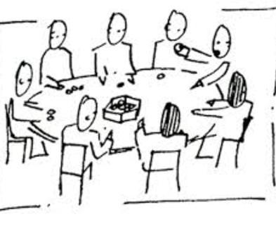 Medium round table