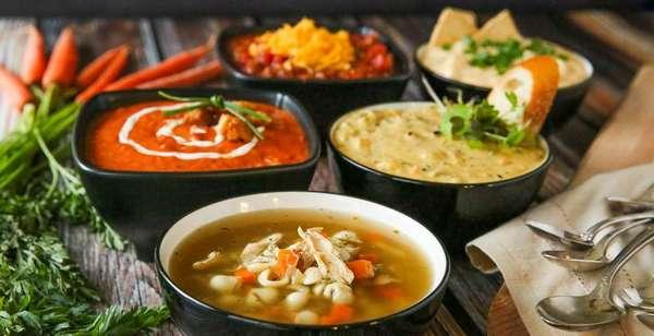 Carousel soups