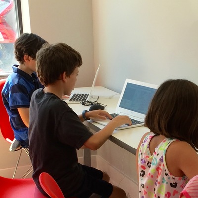 Carousel power up tech academy kids coding