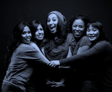 Medium ethnic women