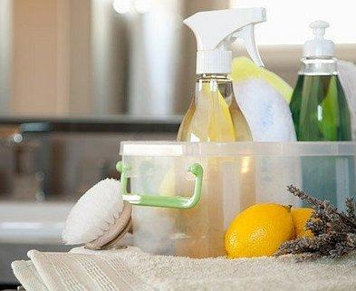 Medium lemon rosemary cleaning