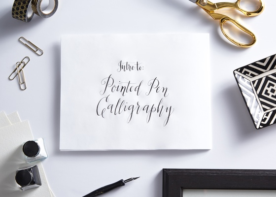 Carousel calligraphy 4 with austin tott