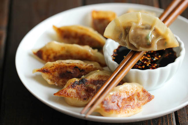 Carousel chinese pot stickers 2