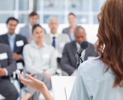 Medium public speaking photo