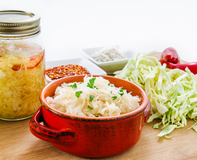 Medium fermented foods