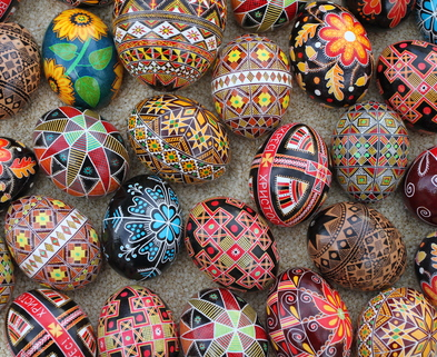 Medium pysanky2011