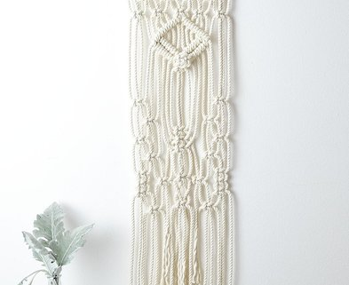 Medium macramewallhanging macrameinchicago macrame amyzwikelstudio46