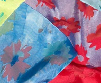 Medium luxury scarf dabble denver sandra clark