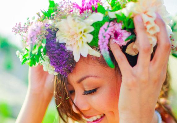 Carousel flower crowns san francisco dabble