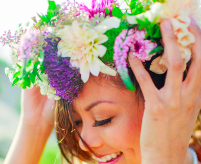 Medium flower crowns san francisco dabble