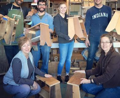 Medium step stool class
