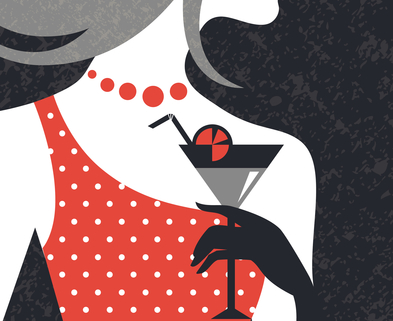 Medium cocktail girl