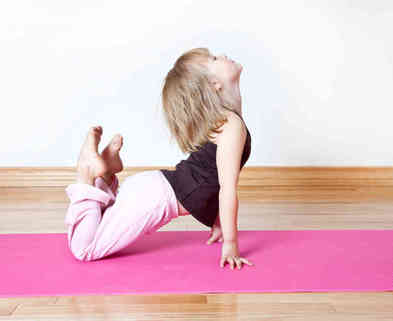 Medium youth yoga