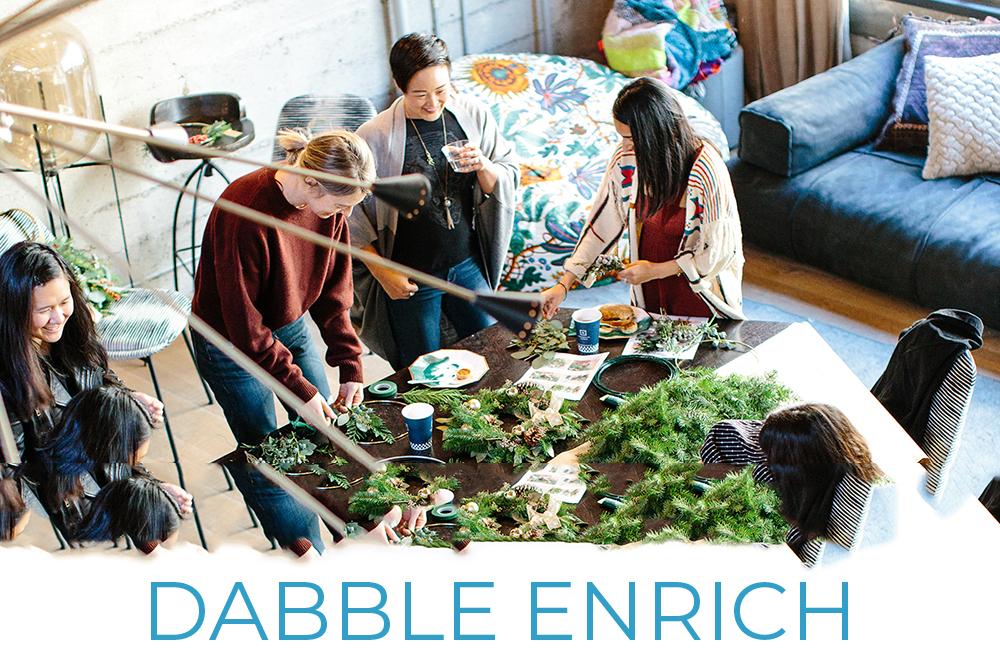 Dabble Enrich Employee Engagement Enrichment Benefits