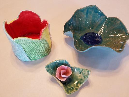 Carousel ceramics example