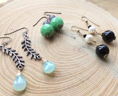 Medium earring workshop