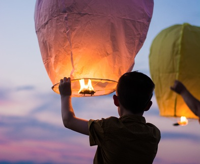 Medium image boy with color lantern balloon1