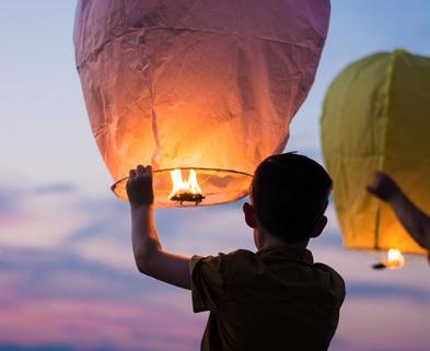 Medium image boy with color lantern balloon1