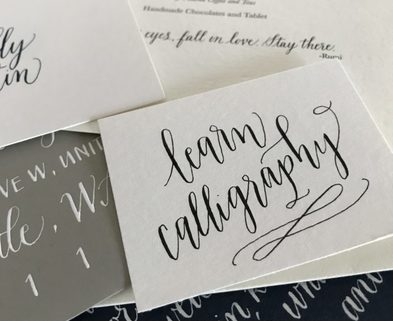 Calligraphy classes seattle modern calligraphy seahurst shop