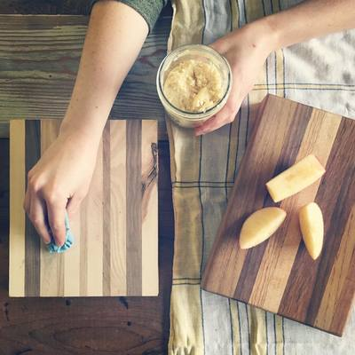 Carousel custom cutting boards