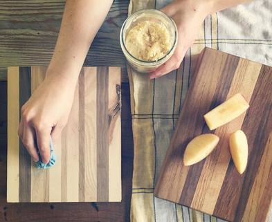 Medium custom cutting boards