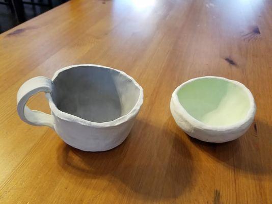 Carousel ceramics examples