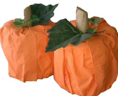 Medium toilet paper pumpkin craft copy