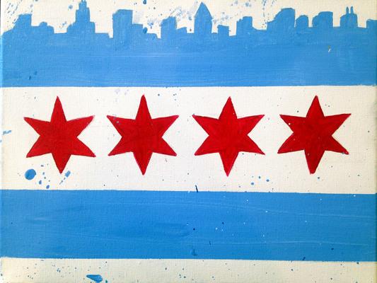 Carousel chicagoflag