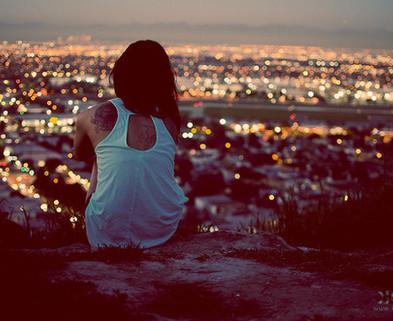 Medium alone big city city forever alone favim.com 3032864