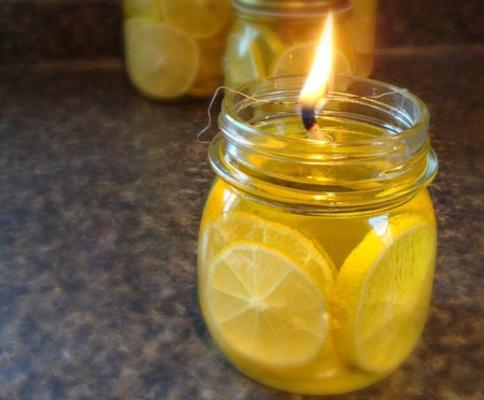 Carousel aroma candles