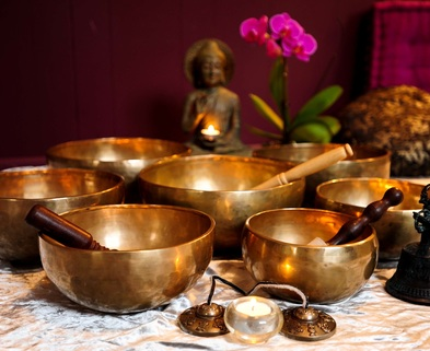 Medium singing bowls