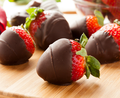 Medium chocolate covered strawberries