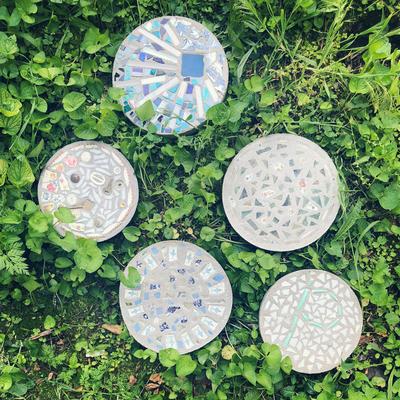 Carousel mosaicstepstones