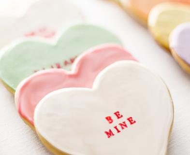 Medium 15 diy conversation heart cookies escort cards copy