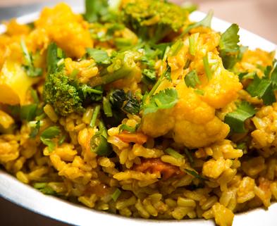 Medium organic brown rice biryani 2