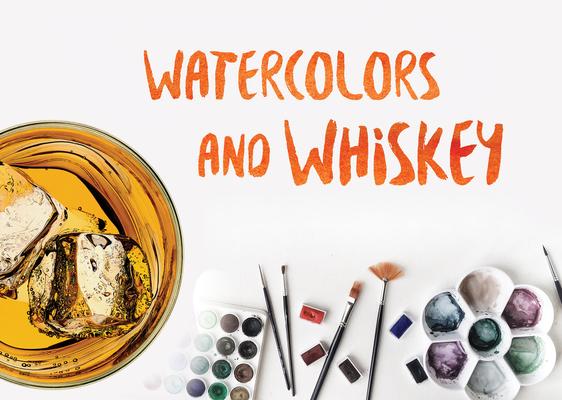 Carousel watercolors and whiskey postcard plain rgb