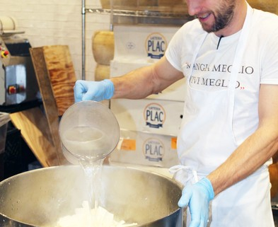 Medium eataly behind the scenes  in the mozzarella lab
