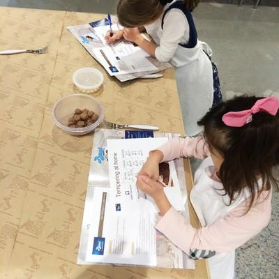 Carousel kids  kitchen  chocolate class with perugina