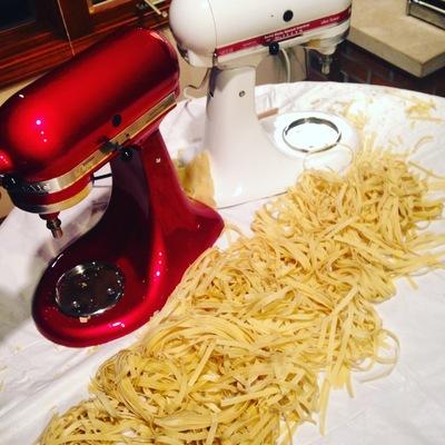 Carousel pasta making class