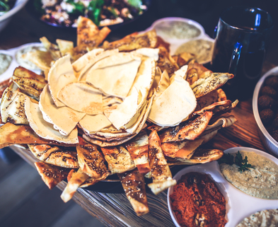 Medium food lunch mexican nachos