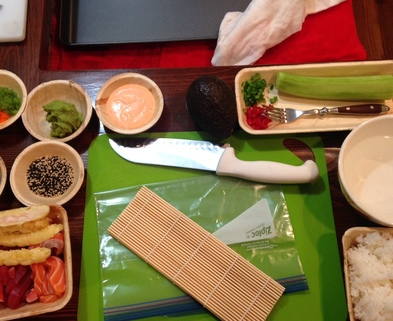 Medium make your own sushi class