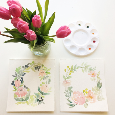 Carousel florals