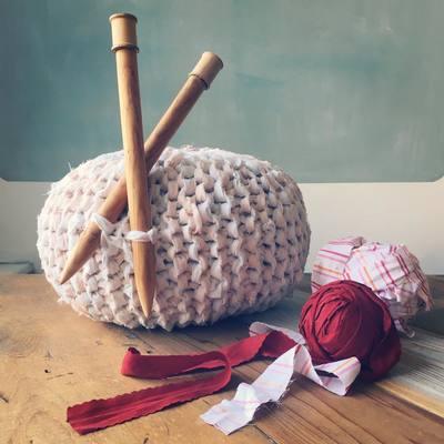 Carousel knitted ottoman poufs season 3