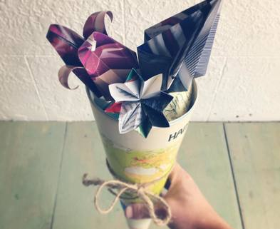 Medium diy flower origami