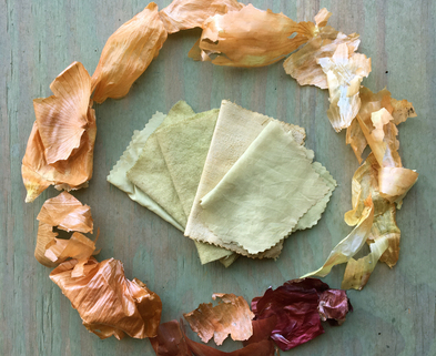 Medium intro to botanical dyes onion circle